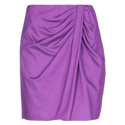 ピンコ PINKO ひざ丈スカート パープル 40 レーヨン 77% / ウール 21% / ポリウレタン 2% ひざ丈スカート