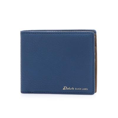 ダコタブラックレーベル Dakota BLACK LABEL 【MORITA & Co.】 レチェンテ 二つ折り財布 (ネイビー)