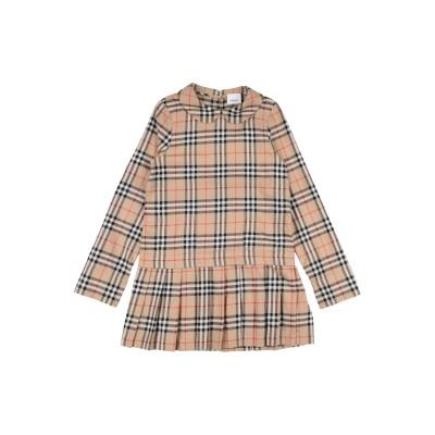 BURBERRY ワンピース&ドレス サンド 3 コットン 100% ワンピース&ドレス