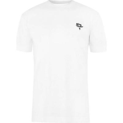 リバティーン リバティーン Libertine Libertine メンズ Tシャツ トップス Short Sleeve Thunder Stripe T-Shirt Optical White