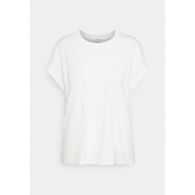 エスプリ Tシャツ レディース トップス Basic T-shirt - off white