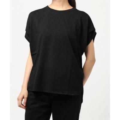 tシャツ Tシャツ 綿スラブショルダータックプルオーバー