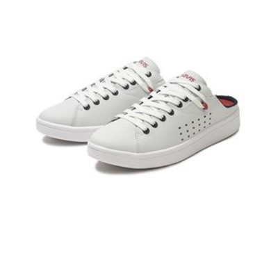 26210 ALPHA MULE WHITE/NAVY/RED 588114-0001