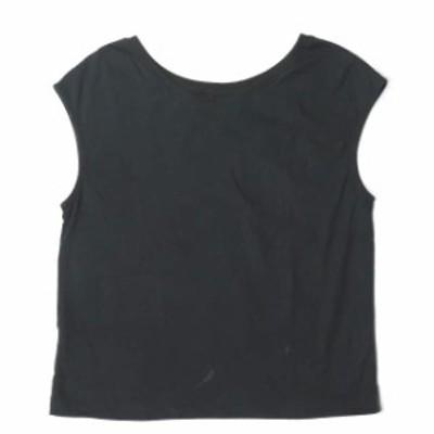 Ray BEAMS レイビームス 日本製 2wayフレンチスリーブTシャツ 63-04-0181-933 ブラック カットソー