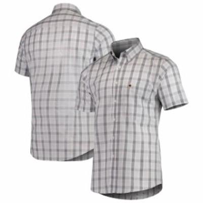Antigua アンティグア シャツ ポロシャツ Antigua Washington Redskins Black Woven Button-Down Shirt