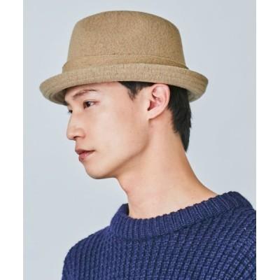 OVERRIDE / OVERRIDE BOILED WOOL BASIC FEDORA MEN 帽子 > ハット