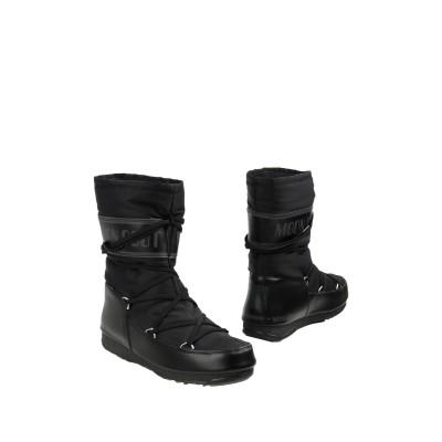 ムーンブーツ MOON BOOT ショートブーツ ブラック 35 紡績繊維 ショートブーツ