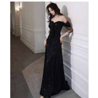 マーメイドドレス 上品 大人 パーディードレス ウエディングドレス 結婚式 発表会 披露宴 花嫁 キャバドレス ロングドレス 演奏会 袖あり