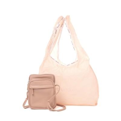 niko and... / オリジナルサブバッグ付きスクエアショルダーバッグ WOMEN バッグ > ショルダーバッグ