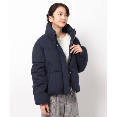 THE SHOP TK(Women)(ザ ショップ ティーケー(ウィメン)) 【サーモライト】冬に嬉しい防風・保温機能付きショート丈中綿ブルゾン
