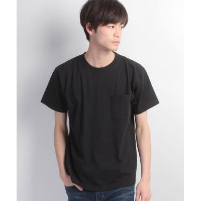 【ジーンズメイト】 BEEFY‐T ポケットTシャツ メンズ ブラック XL JEANS MATE