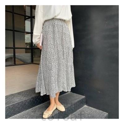 レディースファッションスカートボトムス大きいサイズゆったりドット水玉春スカート春韓国ファッションレディース新作_