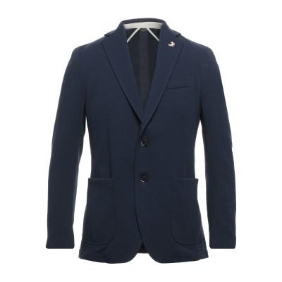 TOMBOLINI テーラードジャケット ダークブルー 48 ポリエステル 95% / ポリウレタン 5% テーラードジャケット