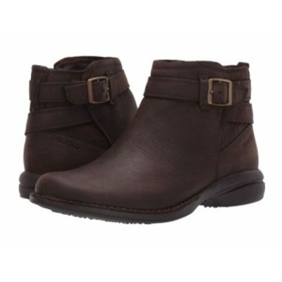 Merrell メレル レディース 女性用 シューズ 靴 ブーツ アンクル ショートブーツ Andover Bluff Waterproof Espresso【送料無料】