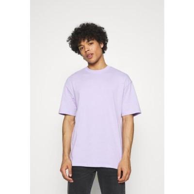 ジャックアンドジョーンズ メンズ ファッション JORBRINK TEE CREW NECK - Basic T-shirt - lavender