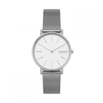 スカーゲン Skagen レディース 腕時計 Signature Silver Mesh Watch Silver