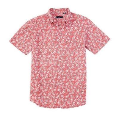 クレミュ メンズ シャツ トップス Floral Print Short-Sleeve Woven Shirt Rapture Rose