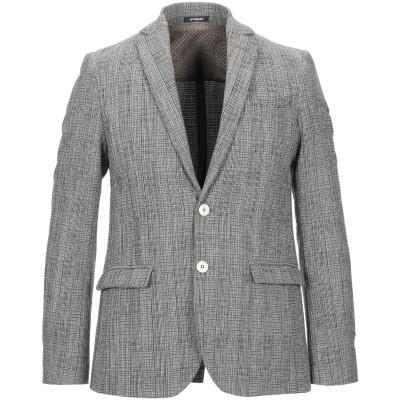 OFFICINA 36 テーラードジャケット グレー 48 紡績繊維 テーラードジャケット
