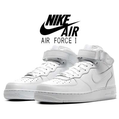 ナイキ エアフォース 1 ミッド 07 NIKE AIR FORCE 1 MID 07 white/white 315123-111 ホワイト スニーカー AF1 白 靴
