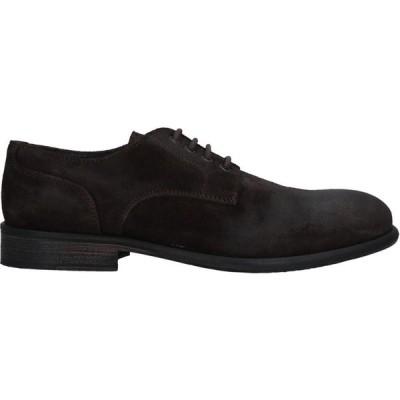 ギャバジンケーティー GABARDINE メンズ 革靴・ビジネスシューズ シューズ・靴 Laced Shoes Dark brown