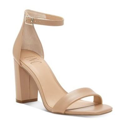 アイエヌシーインターナショナルコンセプト レディース サンダル シューズ INC Women's Lexini Two-Piece Sandals Dark Almond