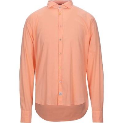 パナマ PANAMA メンズ シャツ トップス solid color shirt Apricot