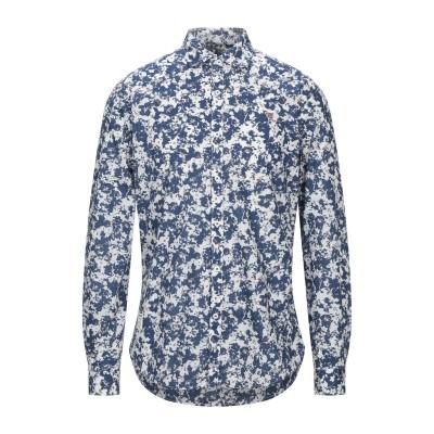 ナパピリ NAPAPIJRI シャツ ブルー S コットン 100% シャツ