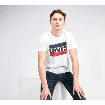 リーバイス Levis メンズ Tシャツ トップス logo t-shirt White