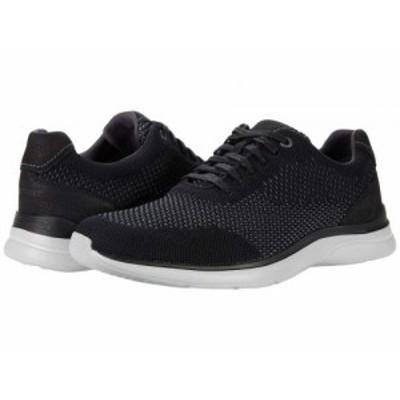 Rockport ロックポート メンズ 男性用 シューズ 靴 スニーカー 運動靴 Total Motion Active Mesh Plain Toe Black 2【送料無料】