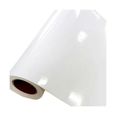 ケイ・ララ 壁紙 はがせる シール 【光沢ホワイトの白い貼ってはがせるのり付き壁紙シール】 幅50cm×10cmサンプルサイズ 壁紙 シール リメイク