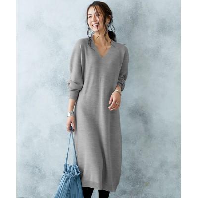 【Hana服】ホールガーメント® 縫い目のない美しいニットワンピース (ワンピース)Dress