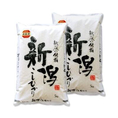 新米 新潟県産 岩船産コシヒカリ 白米 10kg (5kg×2 袋) 令和2年産