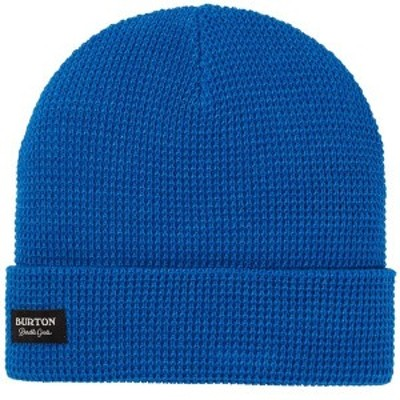 バートン メンズ 帽子 アクセサリー Burton Waffle Beanie Lapis Blue