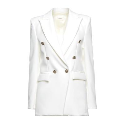 VICOLO テーラードジャケット ホワイト S ポリエステル 93% / ポリウレタン 7% テーラードジャケット