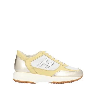 ホーガン HOGAN スニーカー&テニスシューズ(ローカット) ゴールド 39.5 革 / 紡績繊維 スニーカー&テニスシューズ(ローカット)