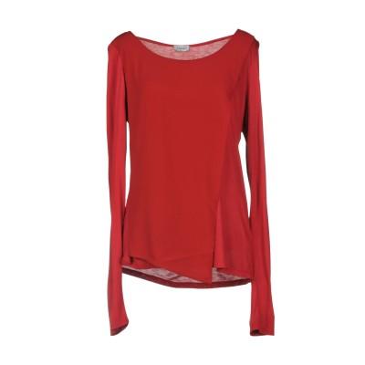 リュー ジョー LIU •JO T シャツ レッド L 100% レーヨン T シャツ