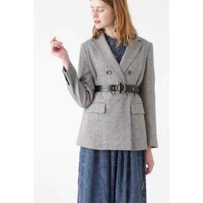 JILLSTUART / ジルスチュアート ◆フィリーツィードテーラードジャケット