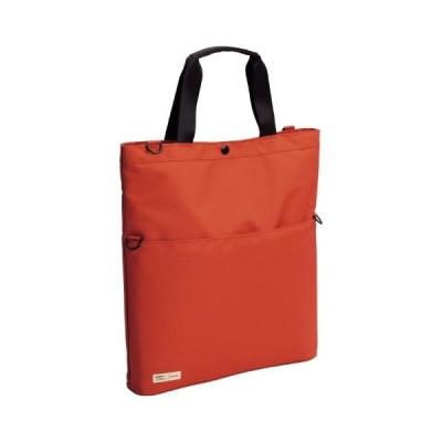 LIHITLAB(A-7583-4)キャリングトートバッグ オレンジ(ファイル・ケース)(ケース・バッグ)(ビジネスバッグ)