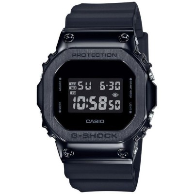 ジーショック メンズ 腕時計 アクセサリー Men's Digital Black Resin Strap Watch 43mm