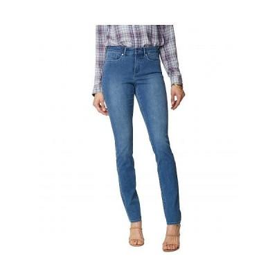 NYDJ Petite エヌワイディージェー レディース 女性用 ファッション ジーンズ デニム Petite Alina Leggings Jeans in Deleon - Deleon