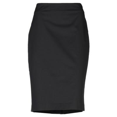 A.D.E.L.E.  1961 ひざ丈スカート ブラック 42 コットン 98% / ポリウレタン 2% ひざ丈スカート