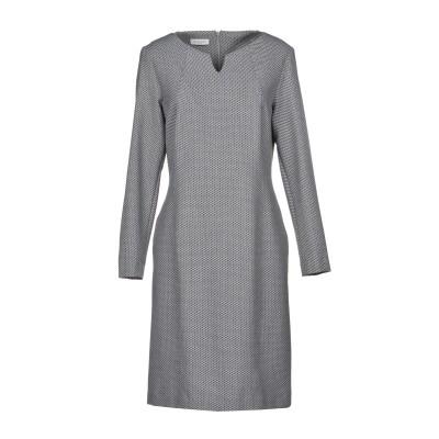 ROSSO35 ミニワンピース&ドレス グレー 42 53% ポリエステル 44% バージンウール 3% ポリウレタン ミニワンピース&ドレス