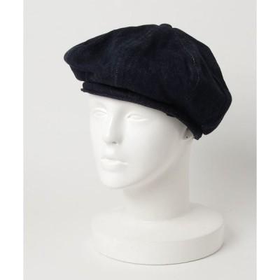 帽子 デニム ベレー帽