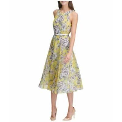 トミー ヒルフィガー レディース ワンピース トップス Victoria Floral Chiffon Dress Sunshine Multi