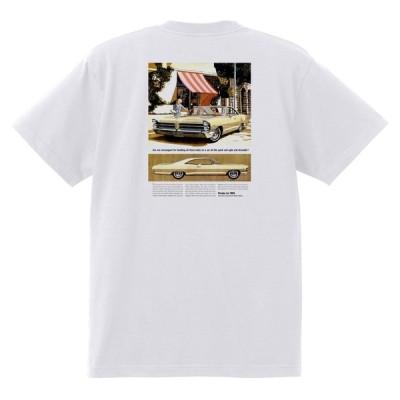 アドバタイジング ポンティアック 391 白 Tシャツ 黒地へ変更可能 1965 テンペスト ボンネビル カタリナ パリジェンヌ アメ車