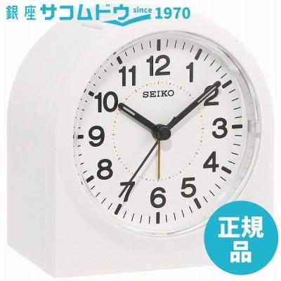 SEIKO CLOCK セイコー クロック 目覚まし時計 アナログ 白 KR894W