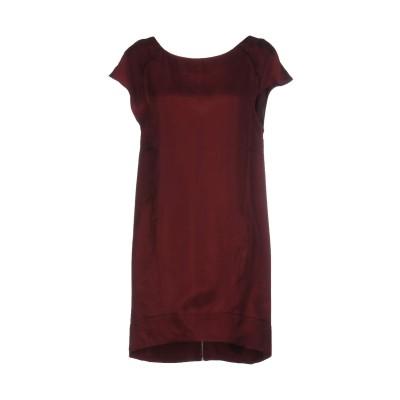 マニラ グレース MANILA GRACE ミニワンピース&ドレス ボルドー 42 キュプラ 100% ミニワンピース&ドレス
