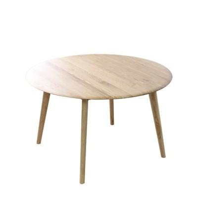【120cm円形テーブル】ジャーナル  120cm 円形 ダイニングテーブル  天然木 木製 丸型 4人掛け 北欧 無垢 丸テーブル 食卓 オーク シンプル
