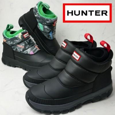 ハンター HUNTER ウインターブーツ メンズ MFS9104WWU オリジナル インシュレーテッド スノーブーツショート ショート丈 防水 防寒雨 雪