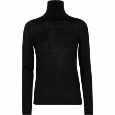 マックスマーラ Max Mara レディース ニット・セーター トップス Candore virgin wool turtleneck sweater Schwarz